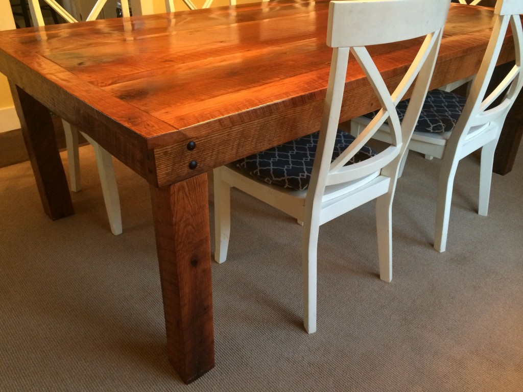 The Barn Wood Table - By The Superhandyman!